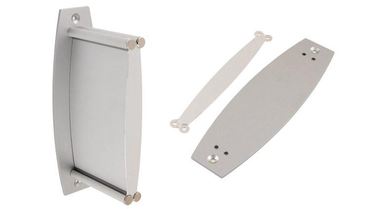 AluSign Plato fali felszerelő lemez és végzáró