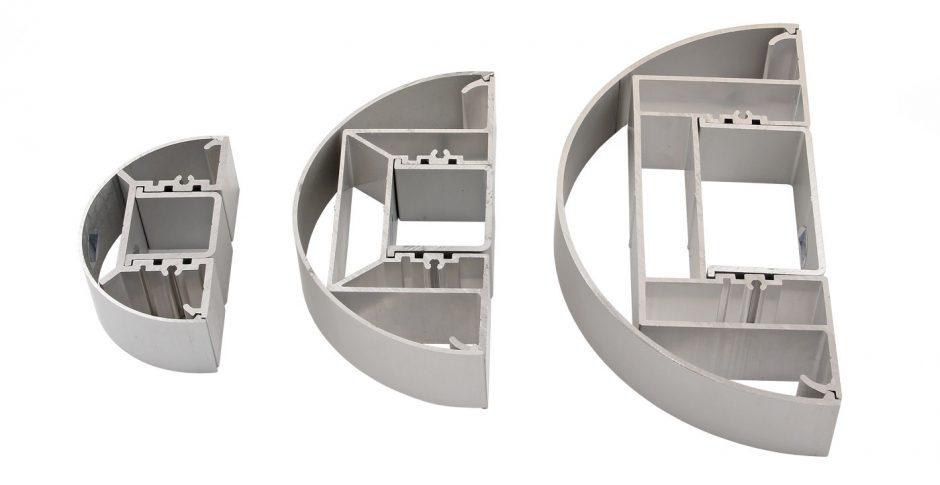 AluSign Totem Globe oszlopok méretválasztéka